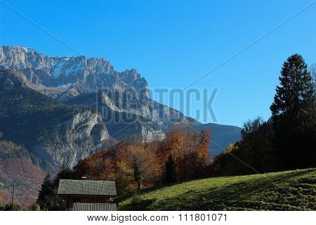 The Contryside In Alps