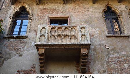 Famous Juliet's Balcony