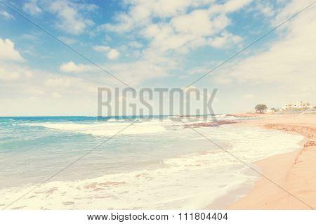Malia beach, Crete, Greece