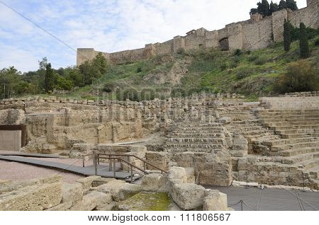 Alcazaba And Roman Theater