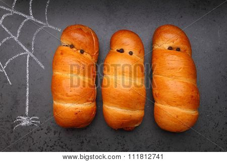 Food For Halloween: Sausages In The Dough,