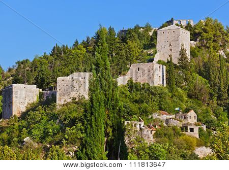 Stolac - Bosnia and Herzegovina - architecture travel background