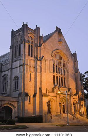 Historic Baptist Church In Jackson