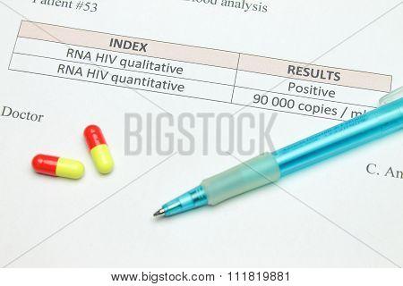 A positive HIV test