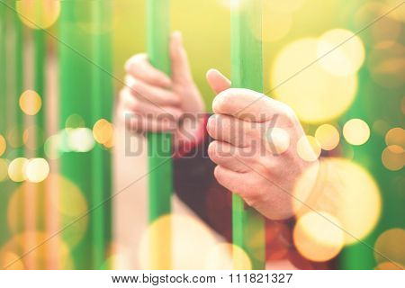 Person Behind Bars