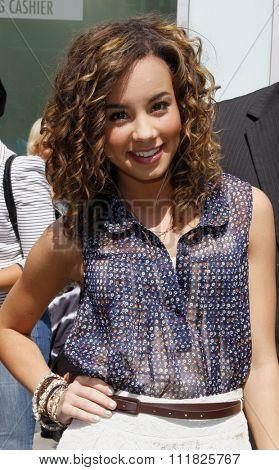 HOLLYWOOD, CALIFORNIA - June 6, 2011. Savannah Jayde at the Los Angeles premiere of