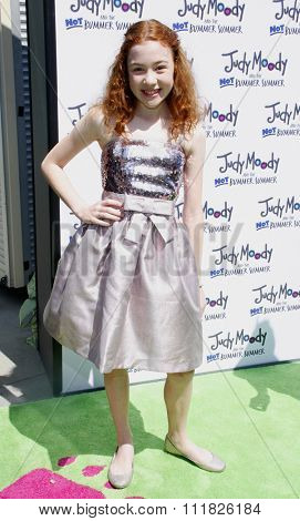 HOLLYWOOD, CALIFORNIA - June 6, 2011. Jordana Beatty at the Los Angeles premiere of