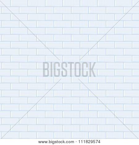 Seamless Blue Brick Pattern