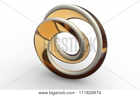 Moebius Strip Shape Object