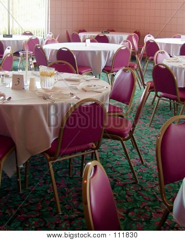 Empty Tables Before Dinner