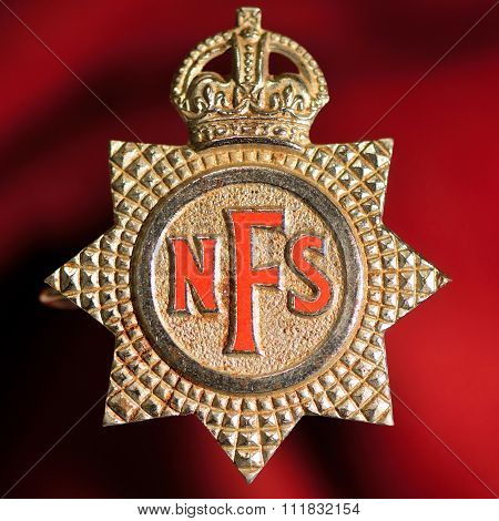 National Fire Service badge