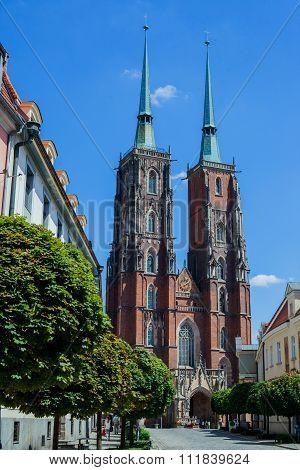 Wroclaw in Poland