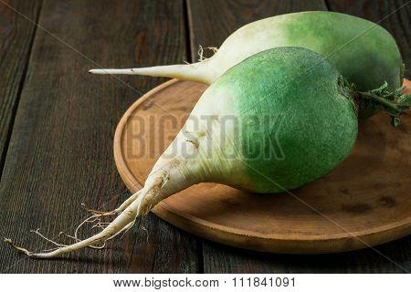 Organic Green Radish