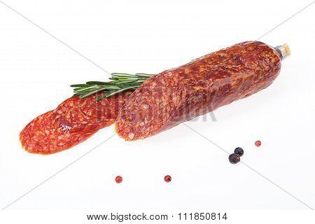 Sausage With Greenery