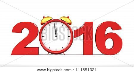 Countdown To 2016 Clock