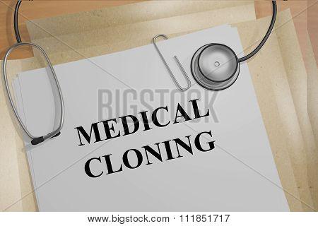 Medical Cloning Concept