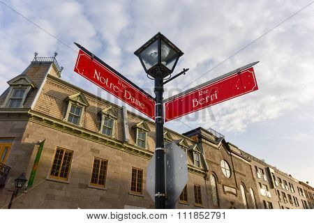 Notre-dame Street - Montreal