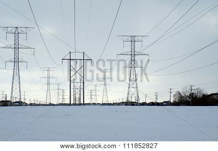 Tall Power Lines