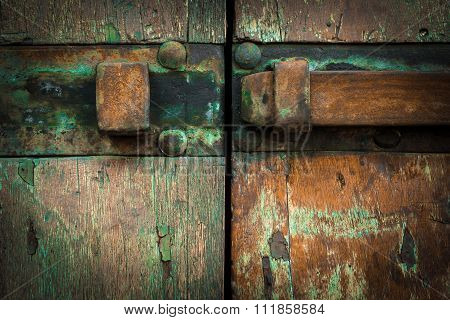 Rusted Latch