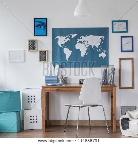 Study room for male student