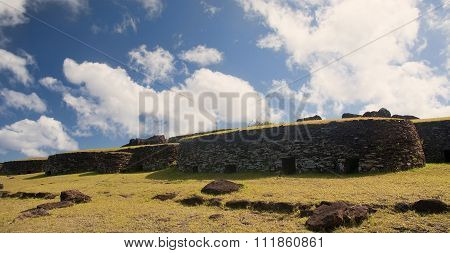 Easter Island - Orongo - Old Ritual Village