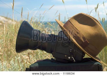 Camera And Cap