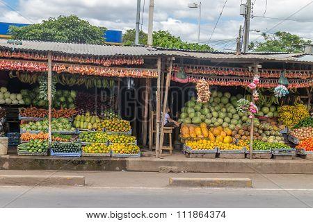 Sebaco, Nicaragua - December 2: Sebaco Market, On December 2, 2015, In Sebaco, Nicaragua.