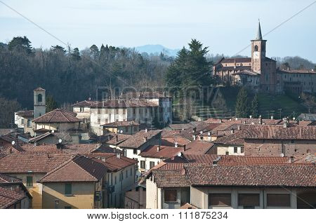 Castiglione Olona - View Of The Historic Town, varese, italy