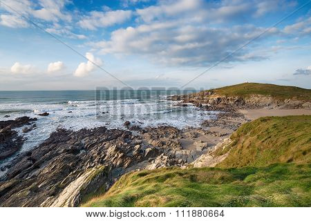 Cornwall Coast At Newquay
