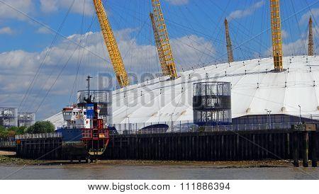 The Millennim Dome, London.