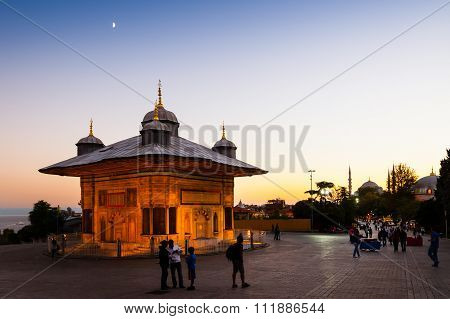 Fountain Of Sultan Ahmed Iii