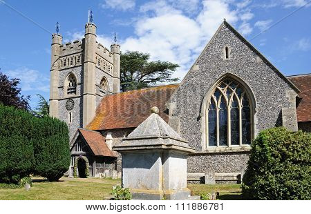 St Marys Church, Turville.