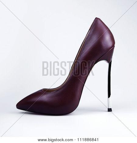 Women's Shoes Maroon