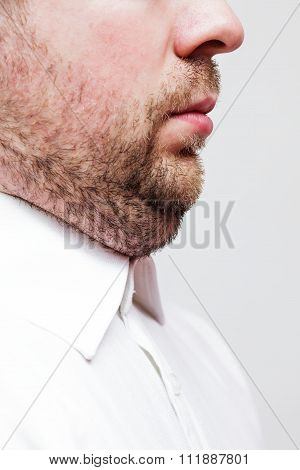 Young Man With A Double Chin