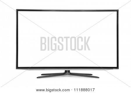 monitor isolated on white
