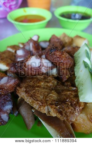 Loh Bak Or Five-spice Pork Roll
