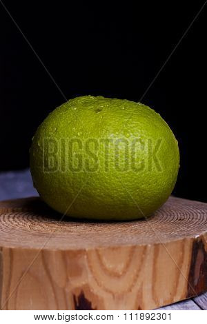 Citrus Sweetie On A Wooden Board