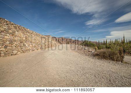 gravel road argentina