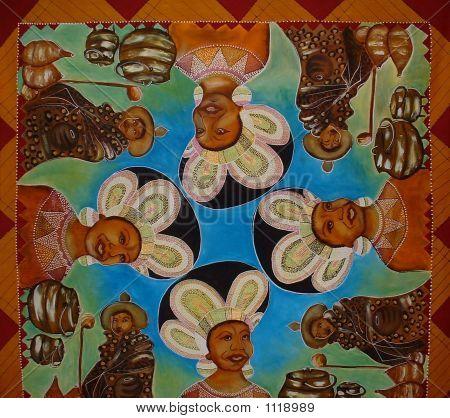 Ndebele And Swazi Mural