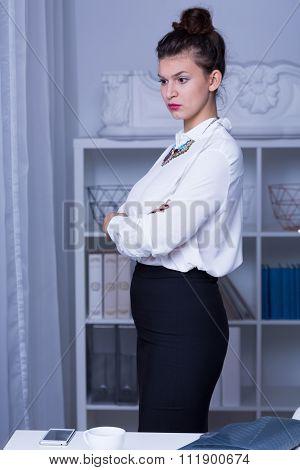 Woman In Business Formal Wear