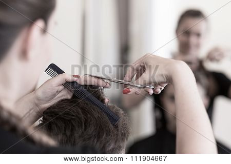 Cutting Man's Hair