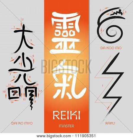 Symbols Reiki signs