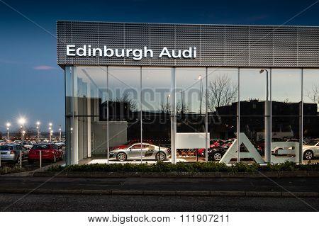 Audi Edinburgh showroom