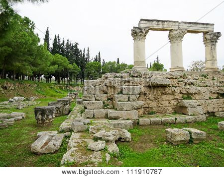 Ruins of Ancient Corinth