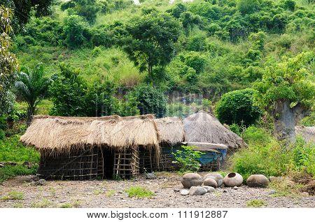 African Village On The Lake Malawi