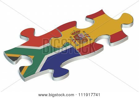 Spain And South Africa Puzzles From Flags