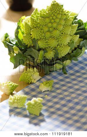 Romanesco Broccoli Or Cauliflower