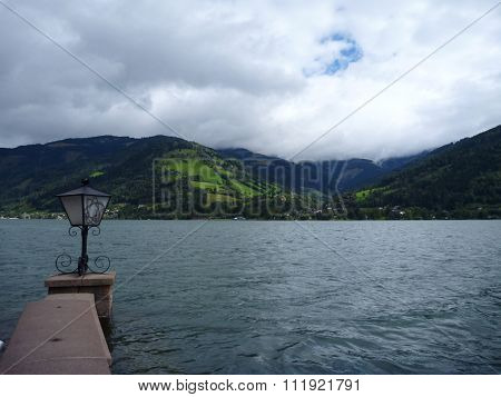 Park At The Lakeside Of Zell Am See