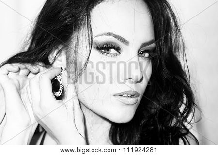Sensual Woman Portrait
