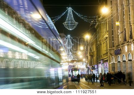 Zagreb At Advent Time